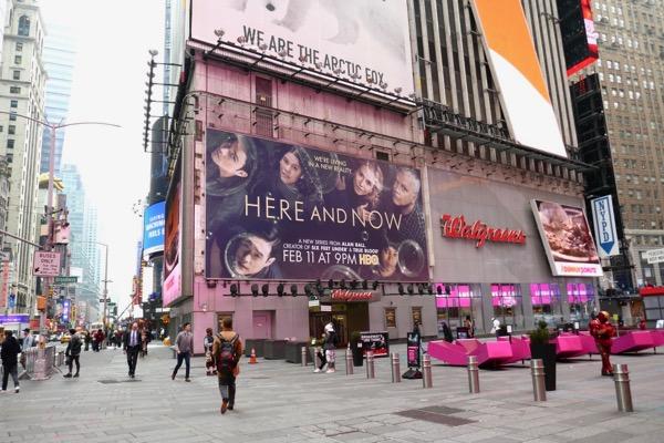 Here and Now season 1 billboard