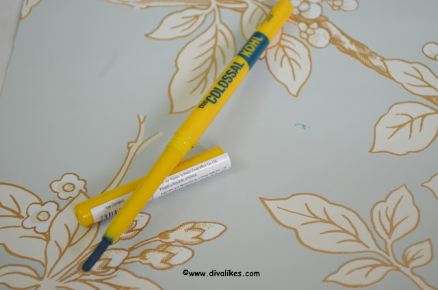 Maybelline Colossal Kohl Jewelled Jade Review