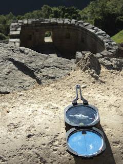 Bússola do Rualdo e Templo do Sol de Machu Picchu