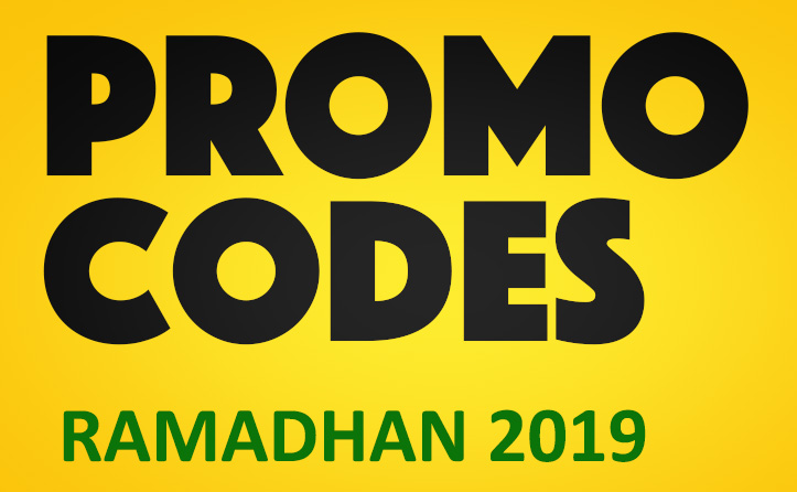 May 2019 - Promo Codes MY