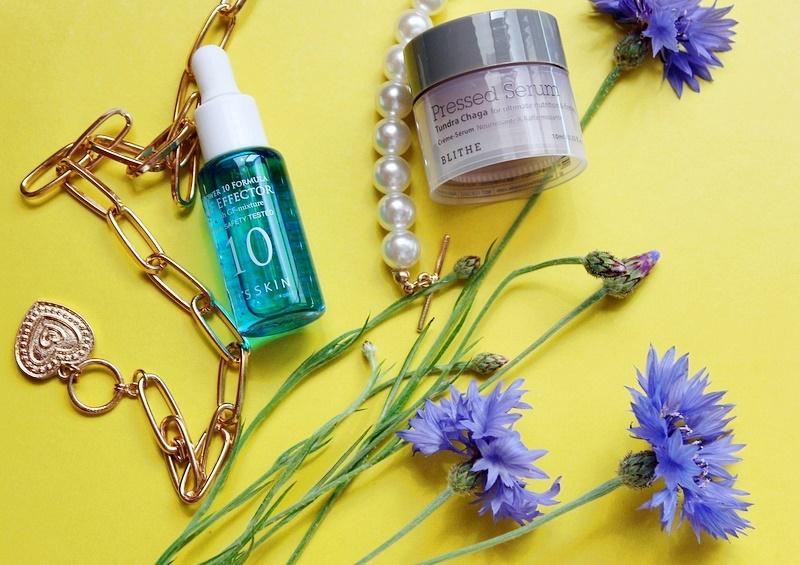 Классные сыворотки: It's Skin Power 10 Formula GF Effector и Blithe Pressed Serum Tundra Chaga / обзор, отзывы