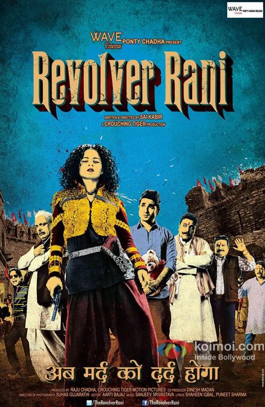 Revolver Rani 2014 Hindi Movie Free Download 480p BrRip 350MB