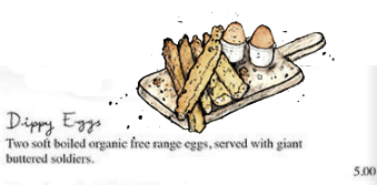 Dippy Eggs - drawing-description - from the i gigi General Store Café as featured on linenandlavendernet - http://www.linenandlavender.net/2014/01/source-sharing-i-gigi-general-store-uk.html