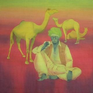 Современный индийский художник. Bhavesh Zala