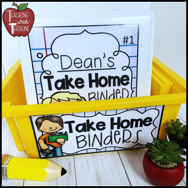 Take Home Binder Basket