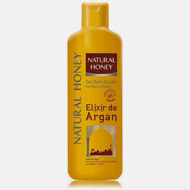 Natural Honey Elixir de Argán gel de Ducha