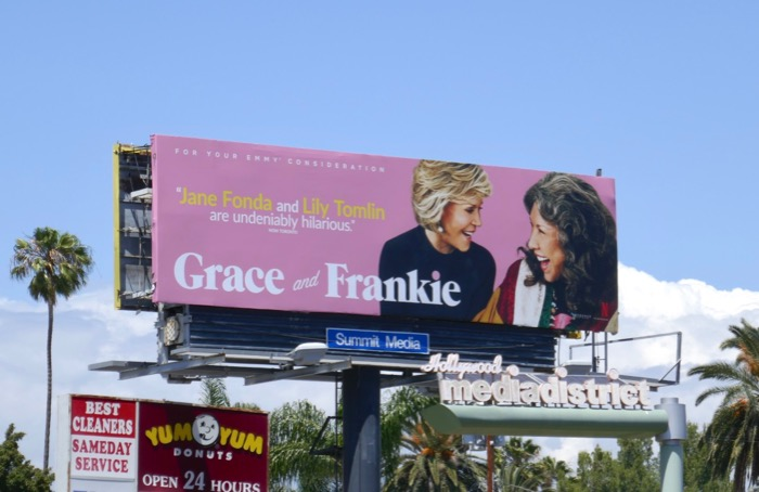 Grace Frankie 2019 Emmy FYC billboard