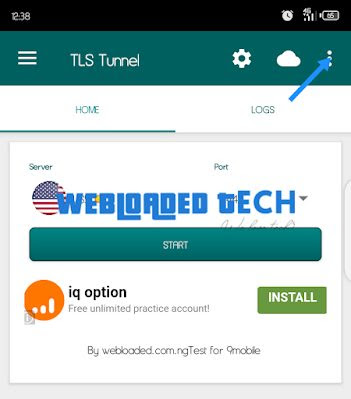 Latest Glo Unlimited Free Browsing Cheat Via TLS Tunnel VPN