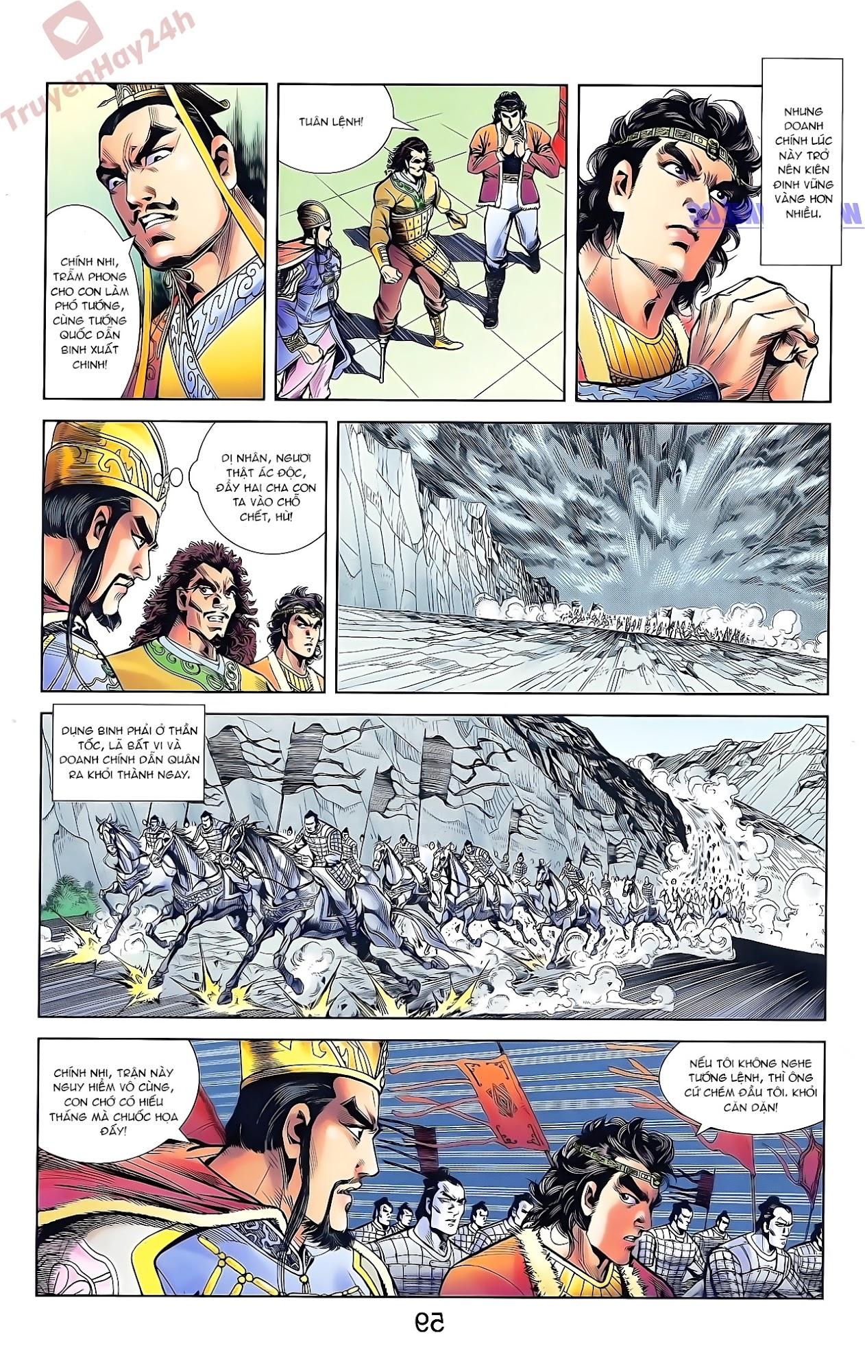 Tần Vương Doanh Chính chapter 44 trang 11