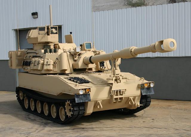 Resultado de imagen para M-109A6 Paladin