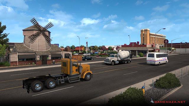 American Truck Simulator Washington Gameplay Screenshot 1