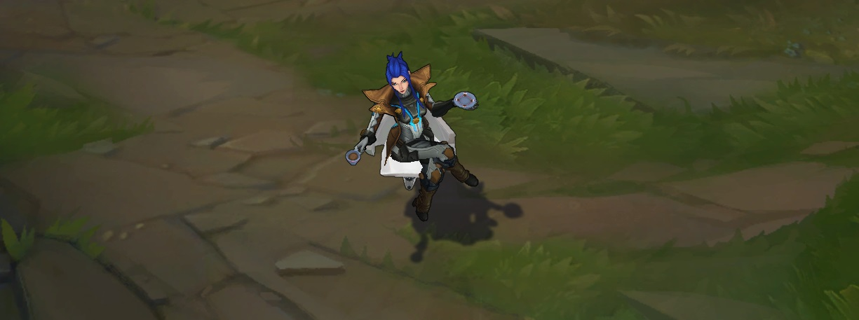 03bd04ca4bd Pulsefire Caitlyn. 1820 RP. [Multiple portals and hats for her recall - 5  variations!]