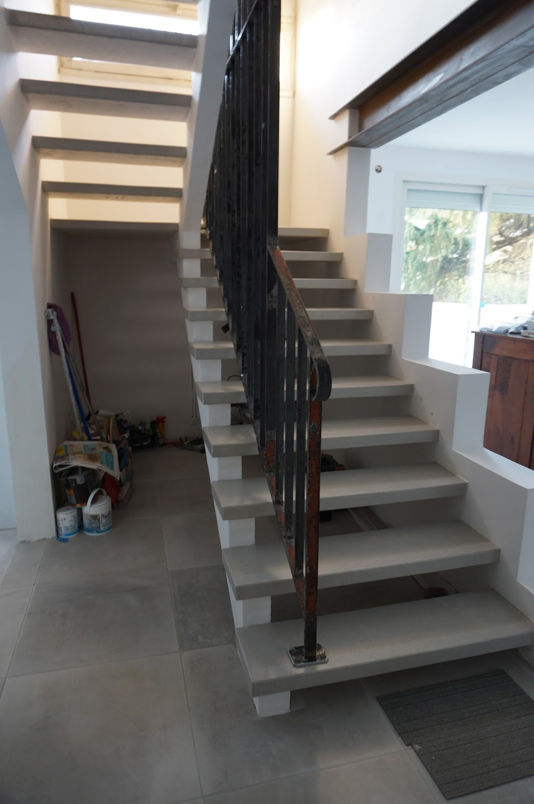 recup simple life moderniser son escalier rien de compliqu. Black Bedroom Furniture Sets. Home Design Ideas