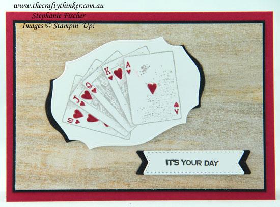 #thecraftythinker #stampinup #cardmaking #gameon #masculinecard , Game On, Masculine card, Tasteful Labels Dies, Stampin' Up Demonstrator, Stephanie Fischer, Sydney NSW