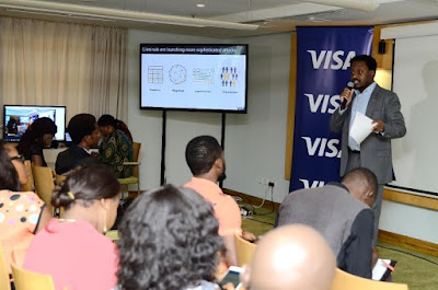nigerian tech bloggers hangout with Visa card