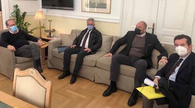 Τι συζήτησαν Νίκας - Μαλτέζος - Γεωργόπουλος για την Ερμιονίδα