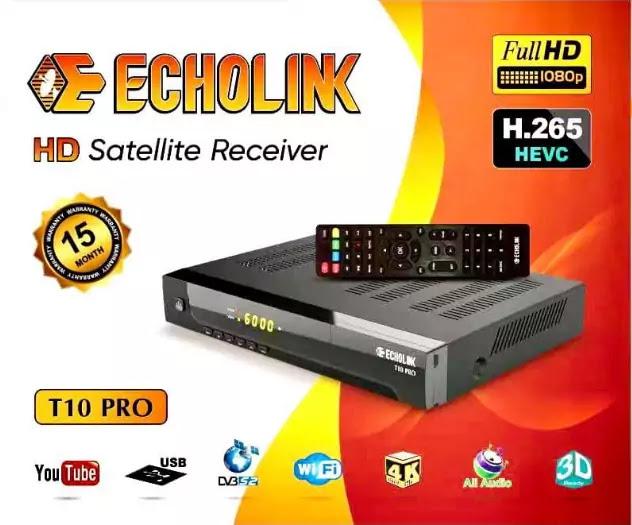 ECHOLINK T10 PRO NEW SOFTWARE V1.01 APRIL 7 2021