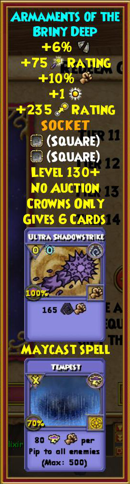 Wizard101 Undersea Enchantment Bundle