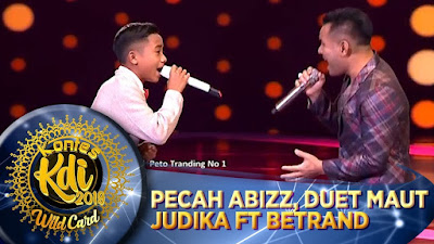 Betrand Peto Feat Judika - Jikalau Kau Cinta KDI