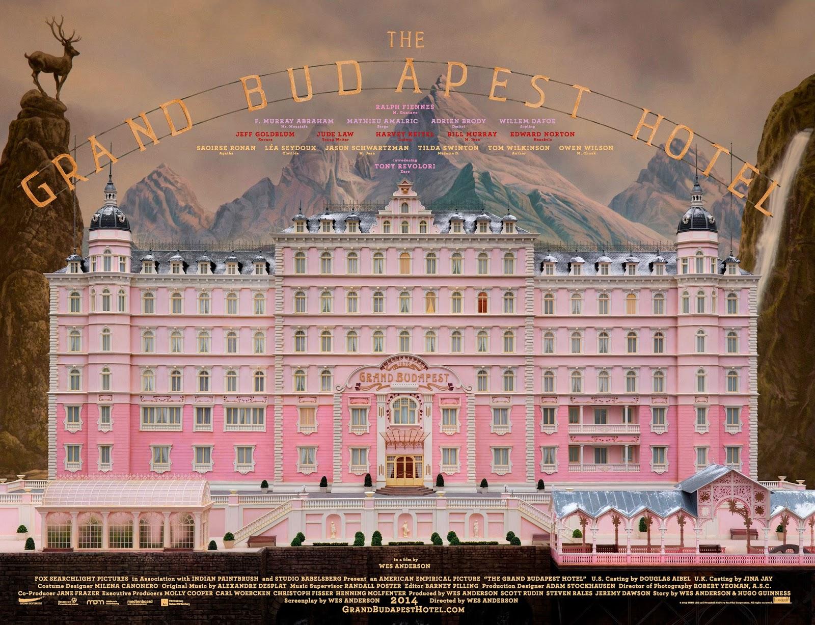 Grand Budapest Hotel Realizador