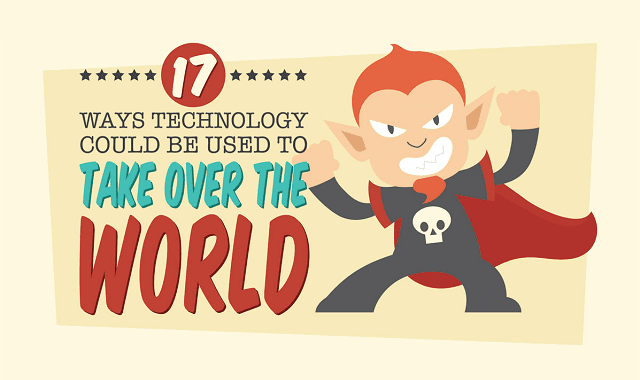 17 Ways Technology Could Be Used To Take Over The World