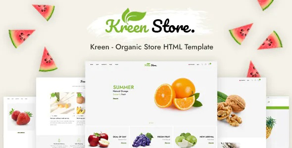 Best Organic Store HTML Template