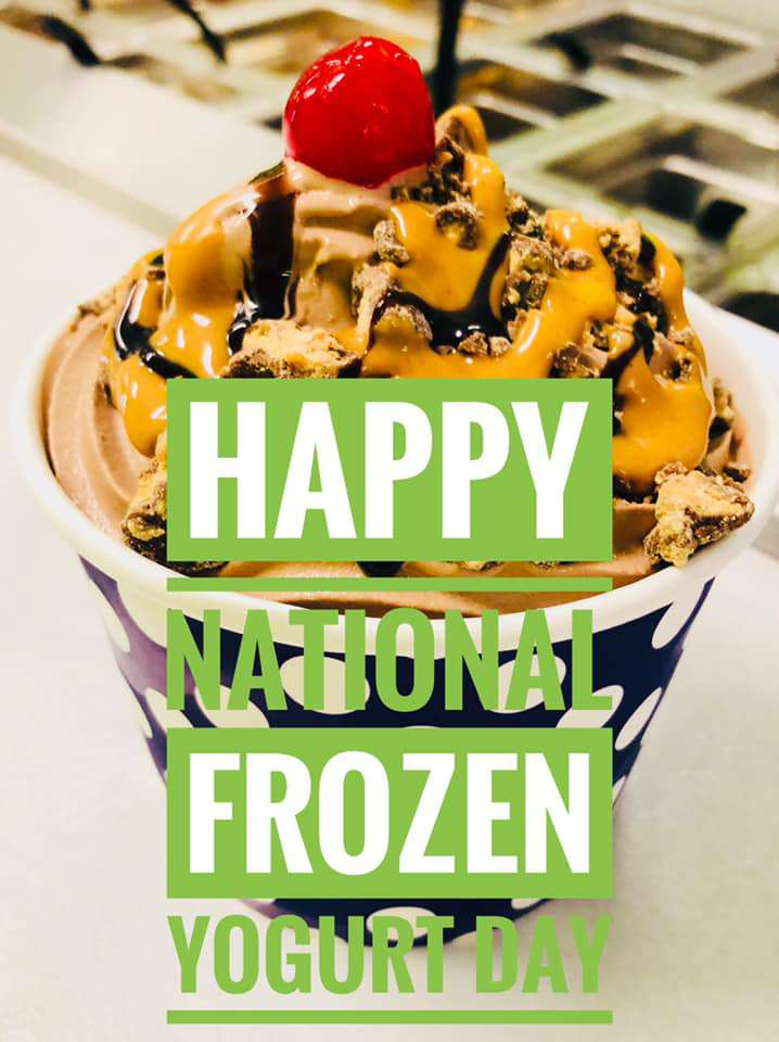 National Frozen Yogurt Day Wishes for Instagram