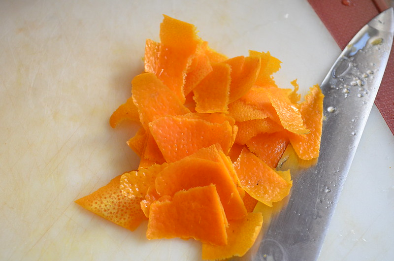 Peeled Orange Zest for Chinese Orange Peel Chicken