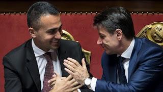 """Ultima ora lotta a evasione, Conte: """"Non criminalizza, ma incentiva.  Di Maio: """"Priorità è carcere a grandi evasori"""""""
