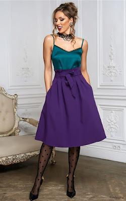 Faldas Bonitas para Vestir Casual