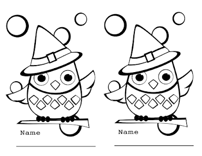 Christmas owl coloring page 7
