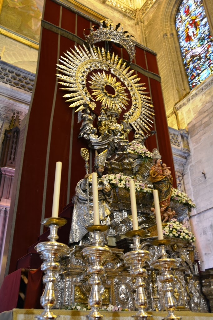 Cathedral of Sevilla silver altar