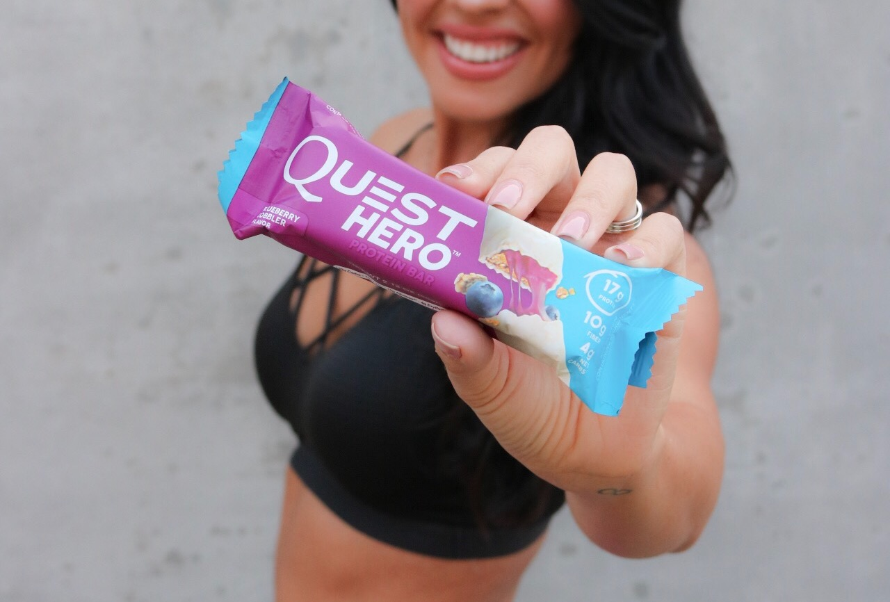 Product Review: Quest Hero Bars // Healthy Living