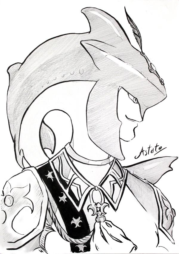 Le prince sidon - fanart Zelda BotW