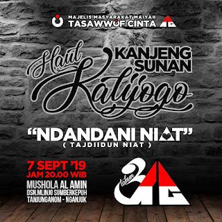 Ndandani Niat-Milad 3 Tahun Tasawwuf Cinta