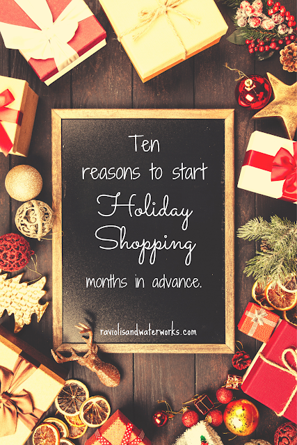 how to get a head start on the holidays; why christmas shop early; christmas shopping; holiday shopping
