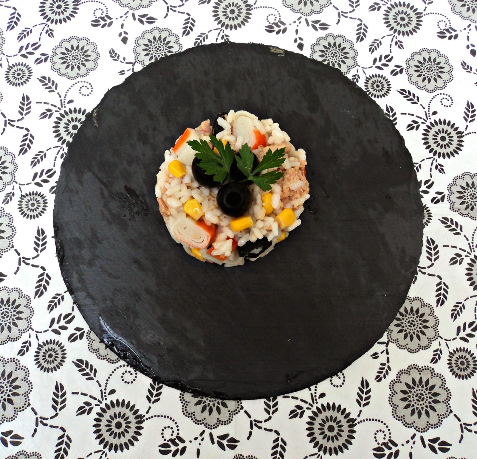 ensalada de arroz marinera para ensaladas originales selección de recetas