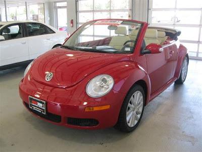 2008 Beetle SE Convertible