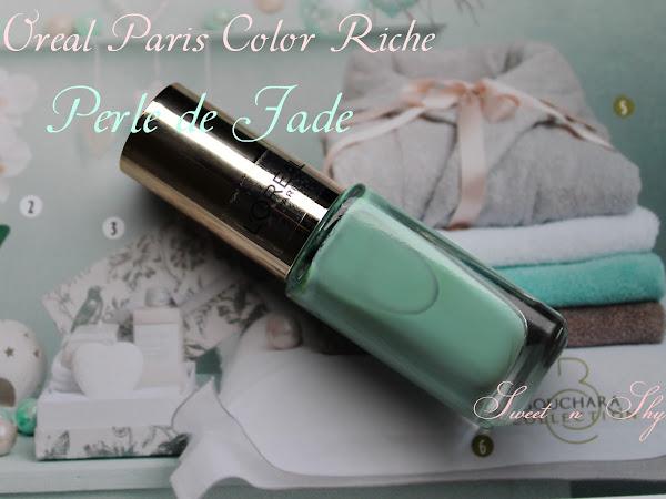 L'oreal color riche nail polish-Perle de Jade