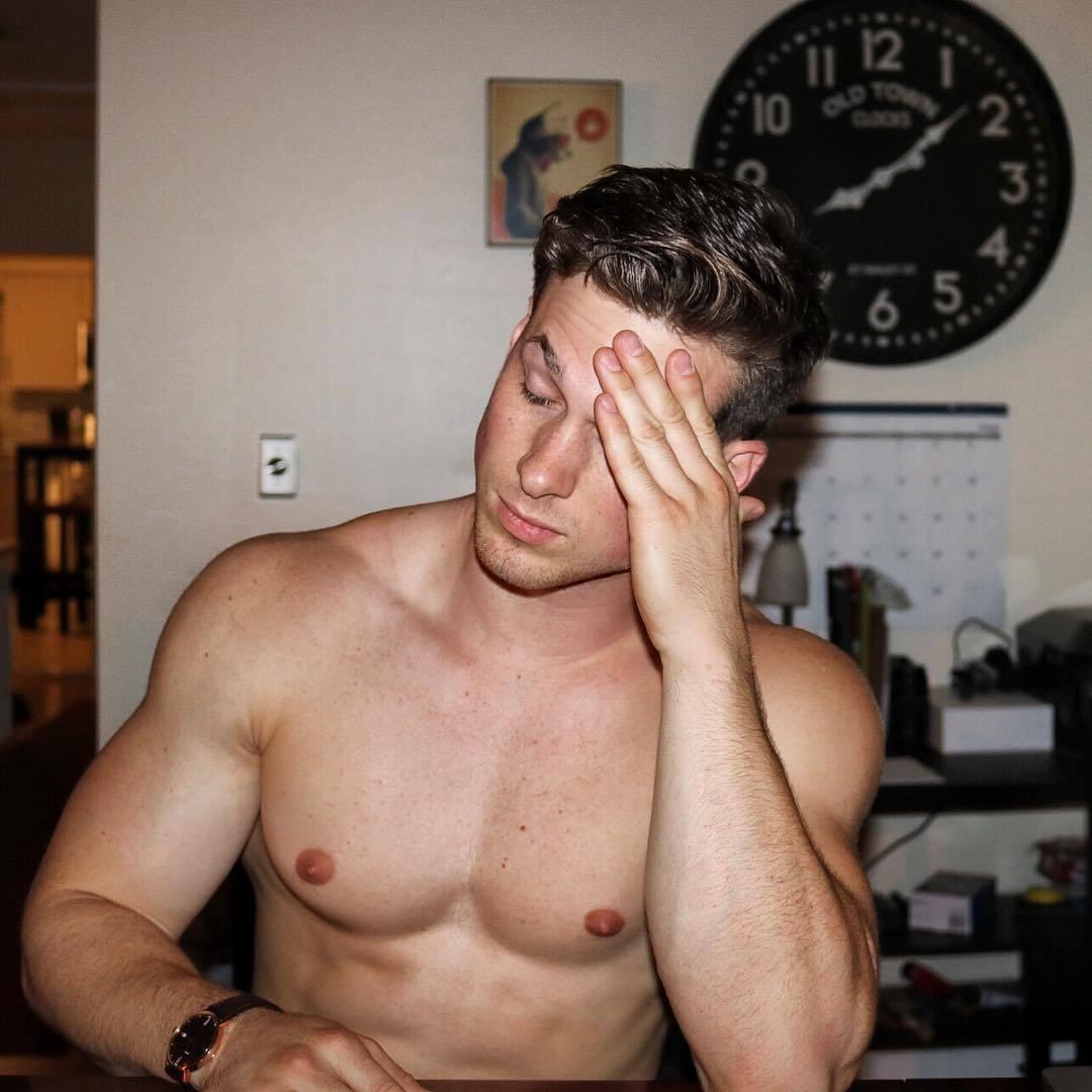 handsome-fit-shirtless-guys-nick-sandell-perky-nips