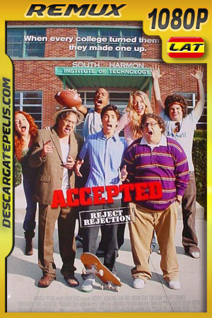 Accepted (2006) 1080p BDRemux Latino – Ingles