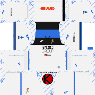 Atalanta B.C. 2019/2020 Kit - Dream League Soccer Kits