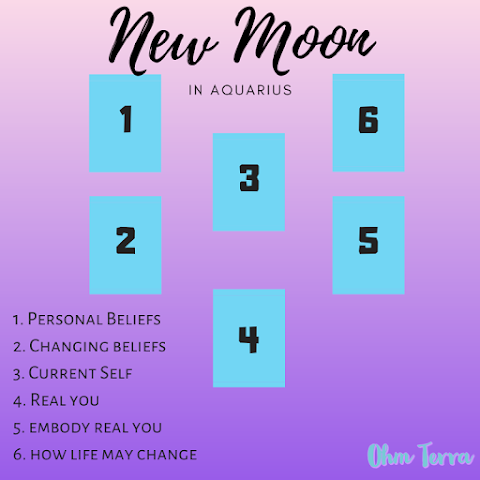 New Moon in Aquarius Tarot Spread