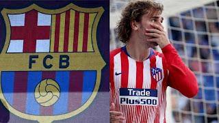 أتلتيكو يهدد برشلونة بعد ضمه غريزمان