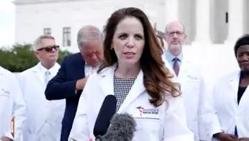 Dra. Simone Gold: Squarespace fecha o site dos médicos na linha de frente nos EUA