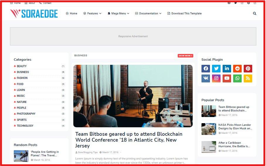 soraedge-blogger-template