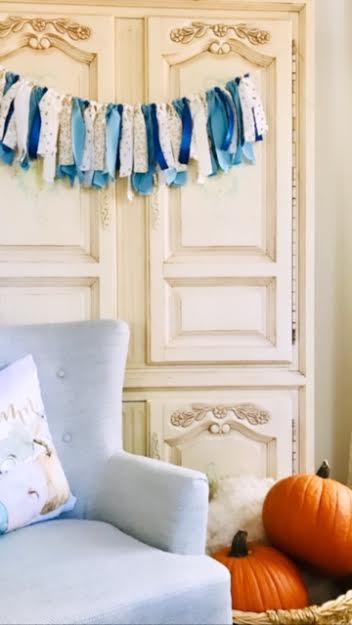 athomewithjemma, handmade, diy, fabric, garland, homemaking, home, decor, decorating,