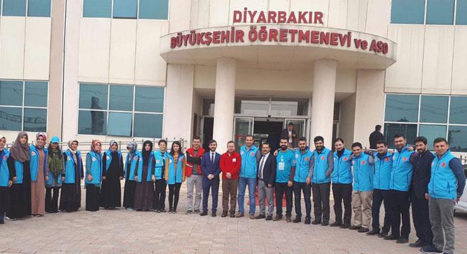 Diyarbakır, acil durum eğitimleri için pilot bölge seçildi