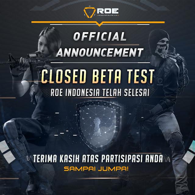 Closed Beta Test Dari ROE Di tutup Pada Tanggal 4 Juni Nanti, Next Update ? 8