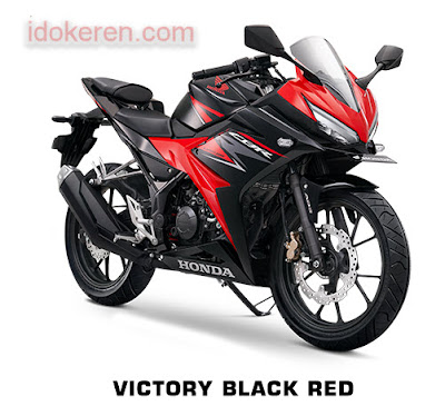 Honda CB150R Victory Black Red
